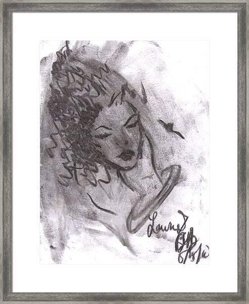 Story Of My Heart Framed Print
