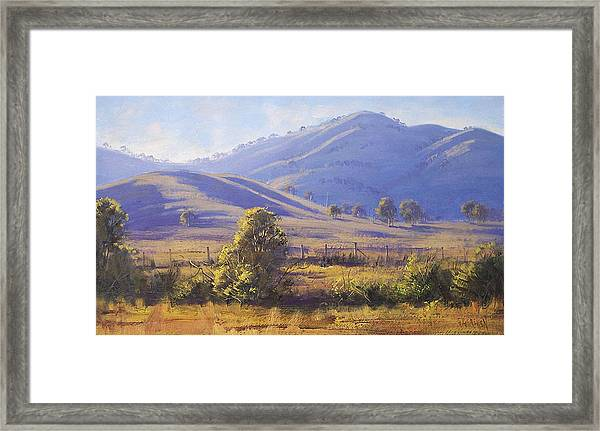 Strath Creek Victoria Framed Print