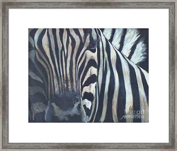 Stripes...sold  Framed Print