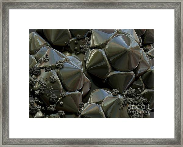 Structure Elements Framed Print