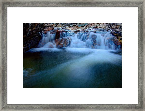 Summer Cascade Framed Print
