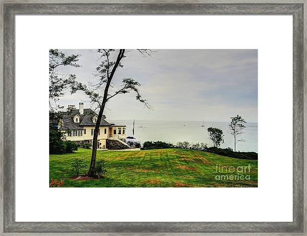 Summer Horizon Framed Print