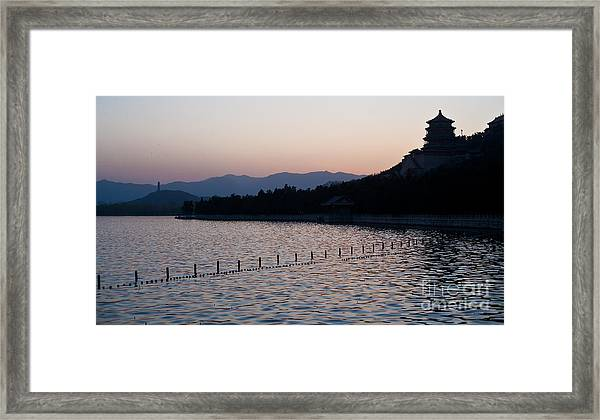 Summer Palace Serenity Framed Print