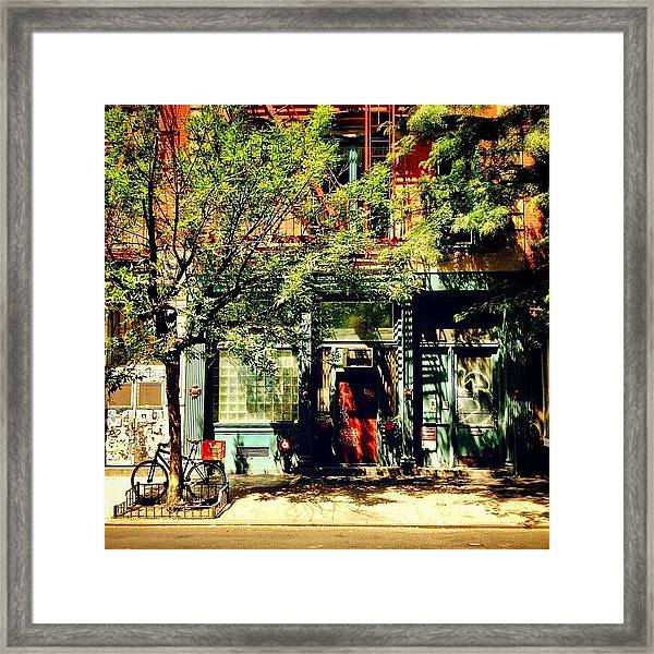 Summer Sun - New York City Framed Print