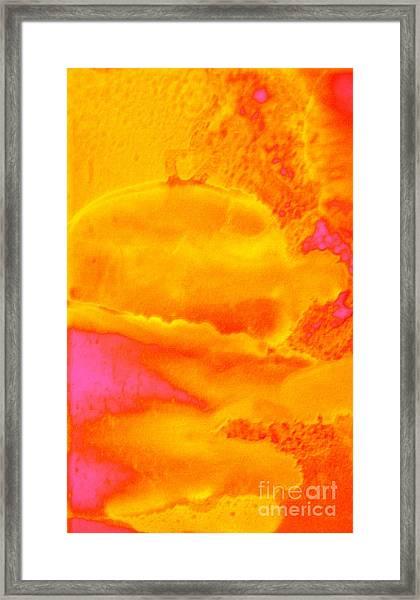 Sun Clouds Framed Print