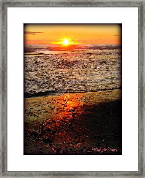 Sun Kissed Framed Print