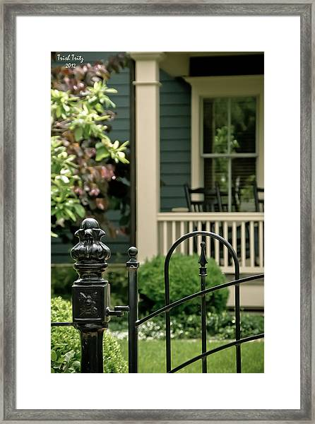 Sunday Afternoon In Doylestown Framed Print