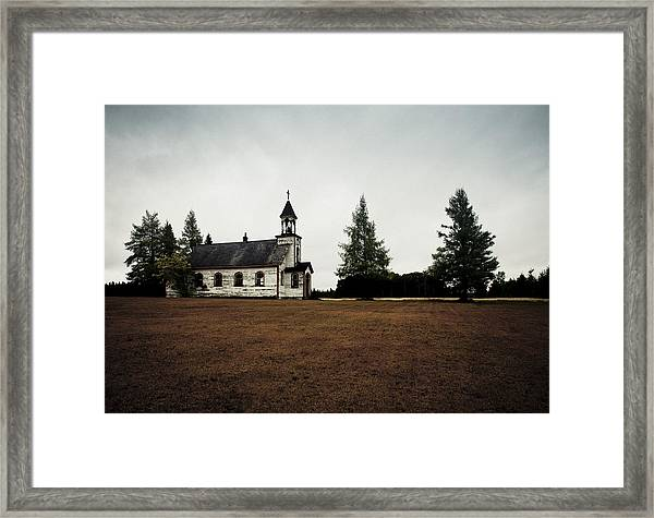 Sundays Past Framed Print
