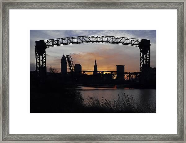 Sunrise From Whiskey Island Framed Print