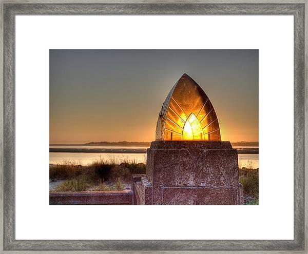 Sunset Captured Framed Print