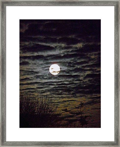 Super Moon 5 Framed Print