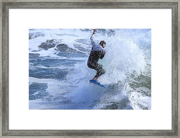 Surfer Framed Print