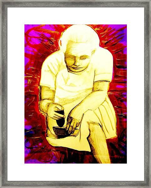 Suruhana Framed Print