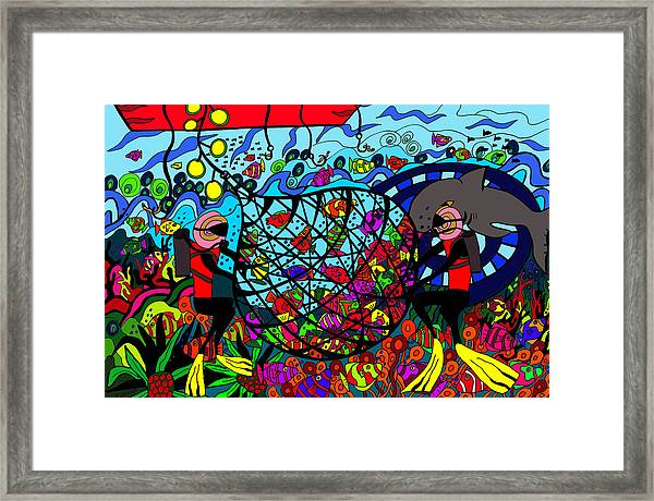 Sustainability Framed Print