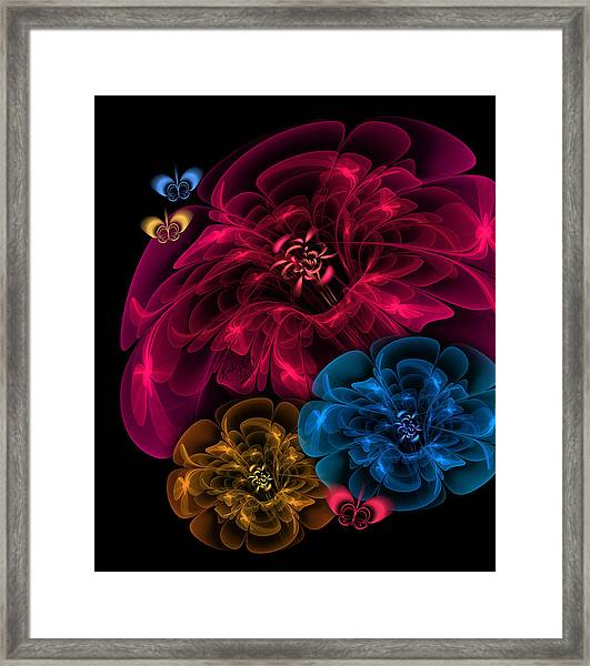 Sweetheart Bouquet Framed Print