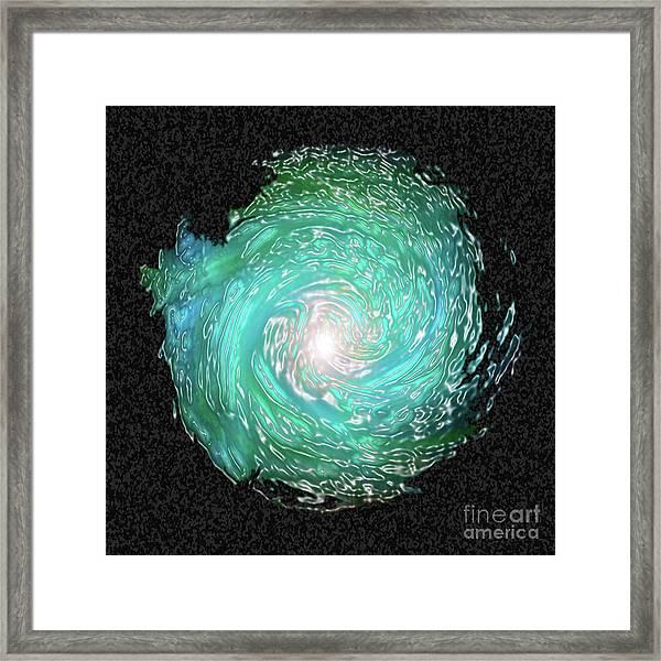 Swirled Framed Print