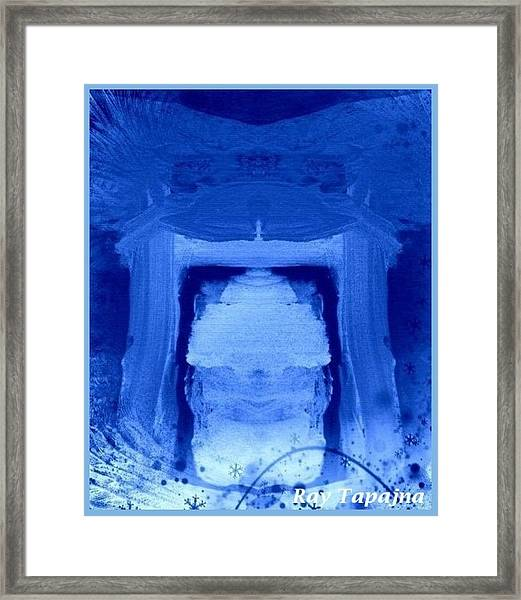Tabernacle Of Hope Framed Print by Ray Tapajna
