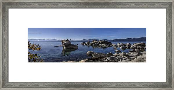 Tahoe Clarity Framed Print