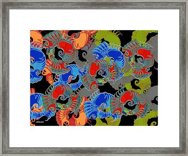 Tainted Shrimp Framed Print
