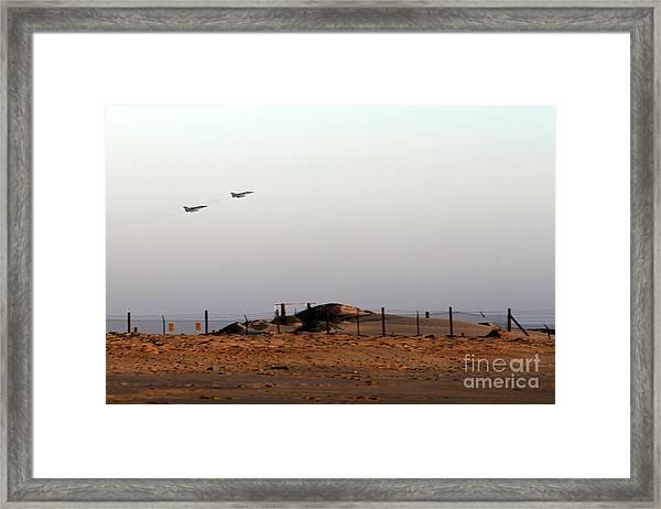Takeoff Framed Print