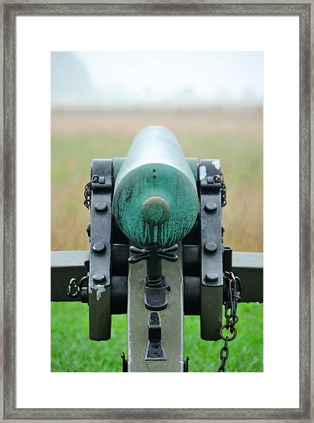 Taking Aim Framed Print
