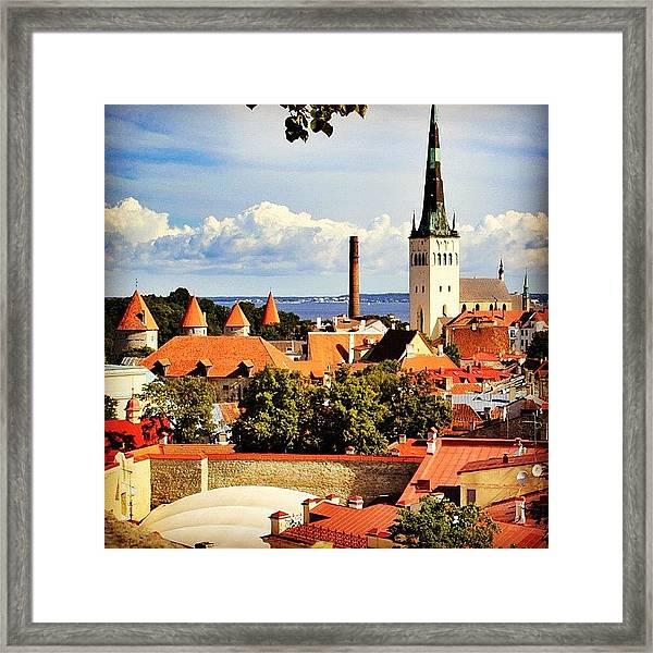 Tallinn - Estonia Framed Print