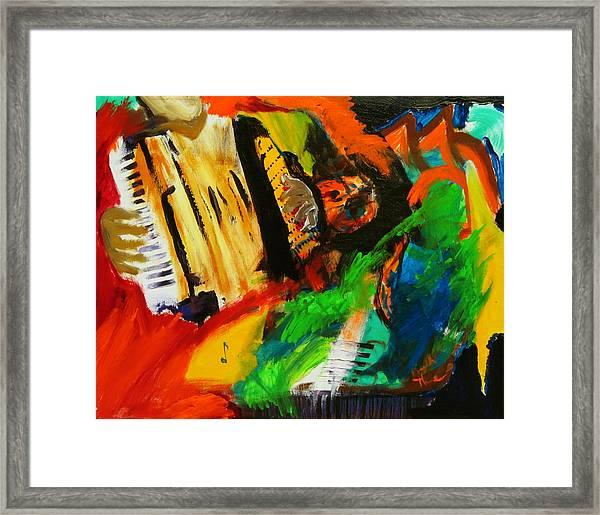 Tango Through The Memories Framed Print