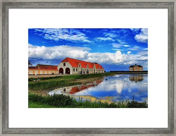 Tasinge Reflections Framed Print