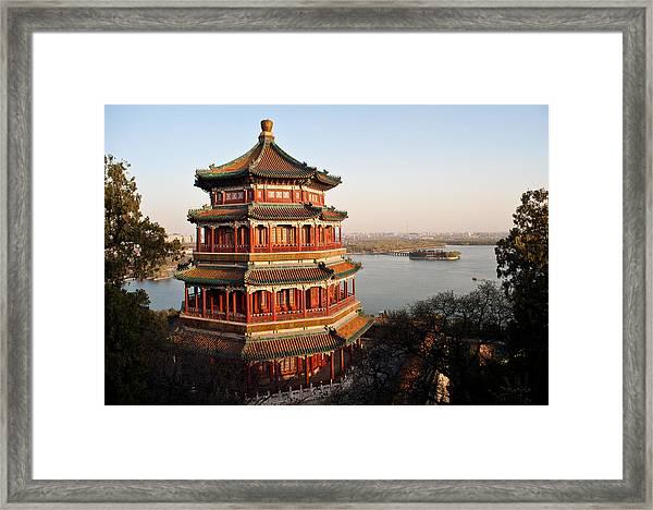 Temple Of The Fragrant Buddha Framed Print