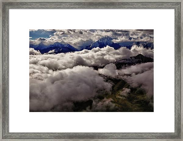 Ten Thousand Feet Over Denali Framed Print