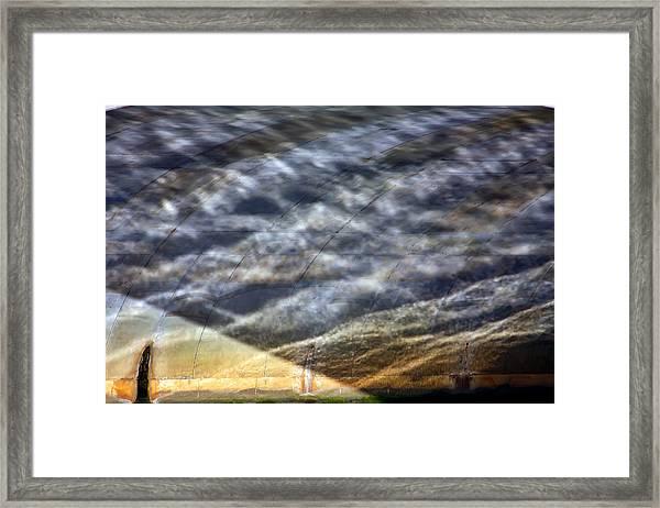 Thames Reflections Framed Print
