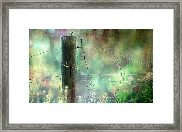 That Place Between Awake And Asleep Framed Print