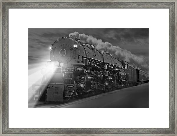 The 1218 On The Move Framed Print