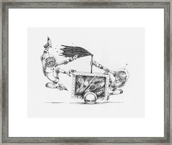 The 24 Hour Test Framed Print