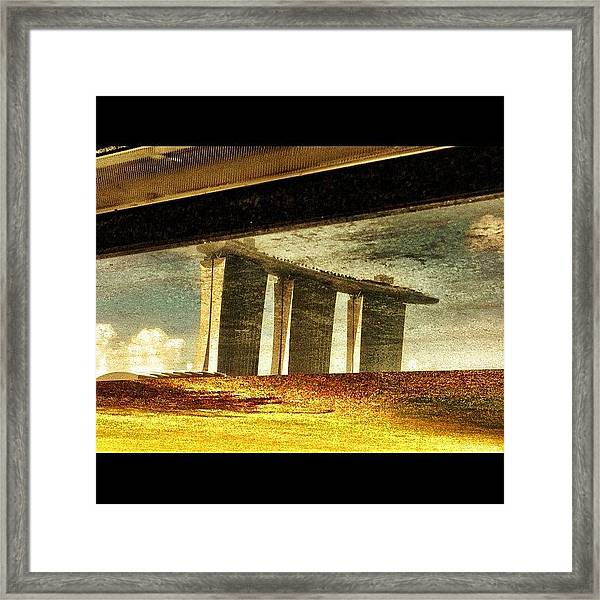 The 3 Towers Framed Print