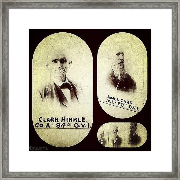 The 64th & 94th O.v.i. (ohio Volunteer Framed Print