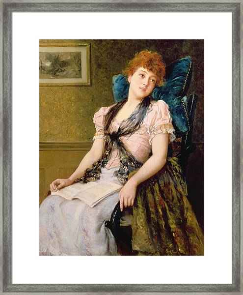 The Afternoon Rest Framed Print