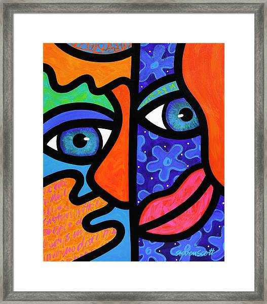 The Answer Is Three Framed Print