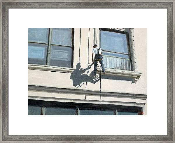 The Apprentice Framed Print by Tate Hamilton