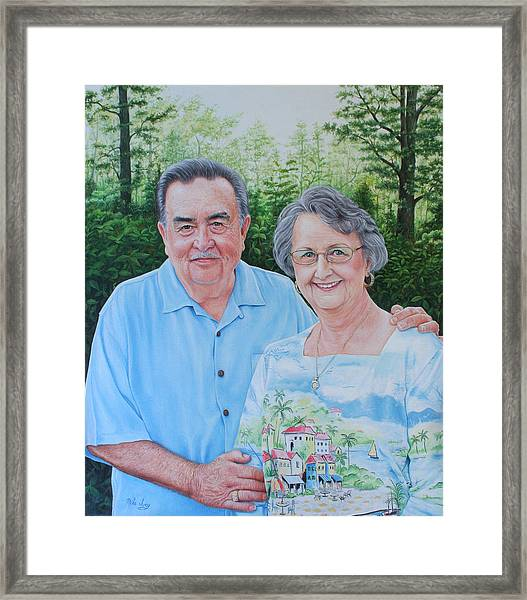 The Armstrongs Framed Print