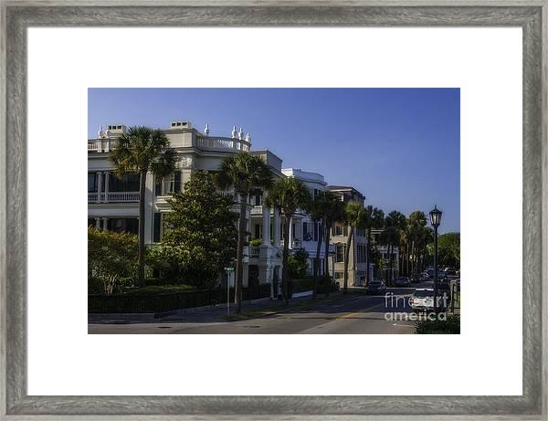 The Battery Charleston Sc Framed Print
