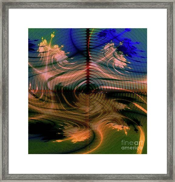 The Black Hole Framed Print