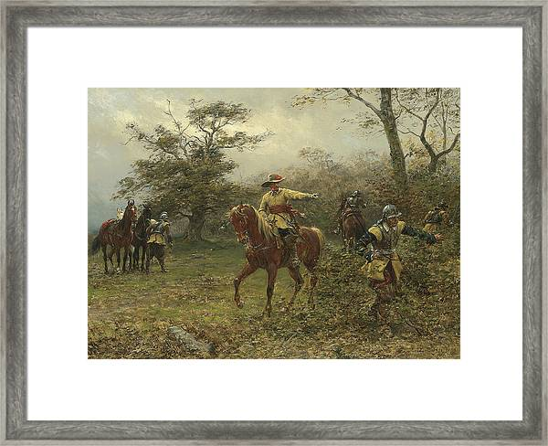 The Boscobel Oak Framed Print