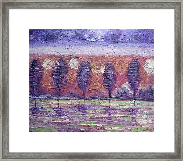 The Boulevard Framed Print