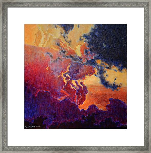 The Brilliance Of The End Framed Print by Andrew Danielsen