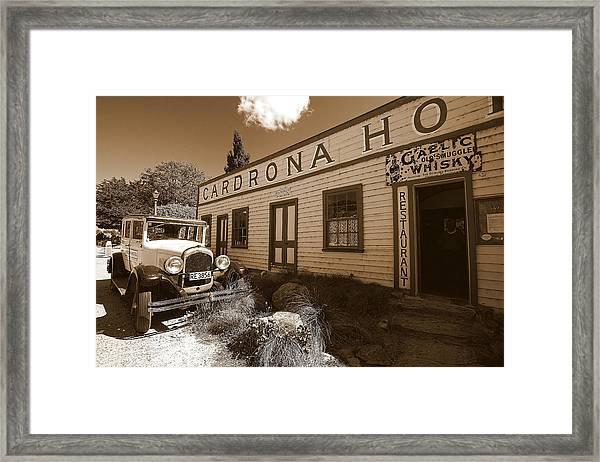 The Cardrona Hotel Framed Print