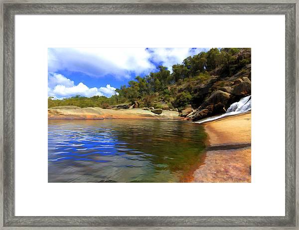 The Cascades Framed Print