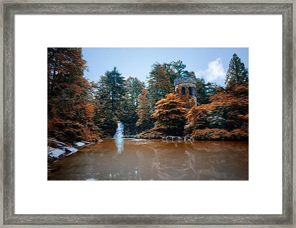 The Castle At Longwood Gardens Framed Print