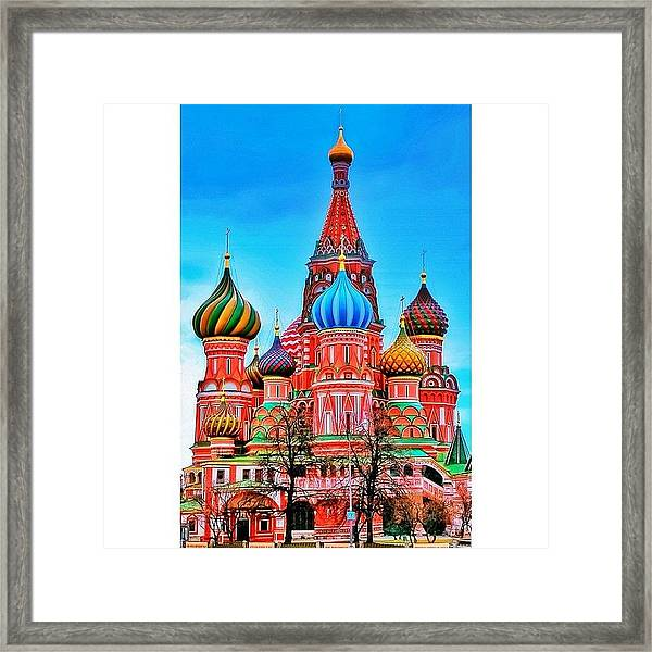 The Cathedral Of The Protection Of Most Framed Print