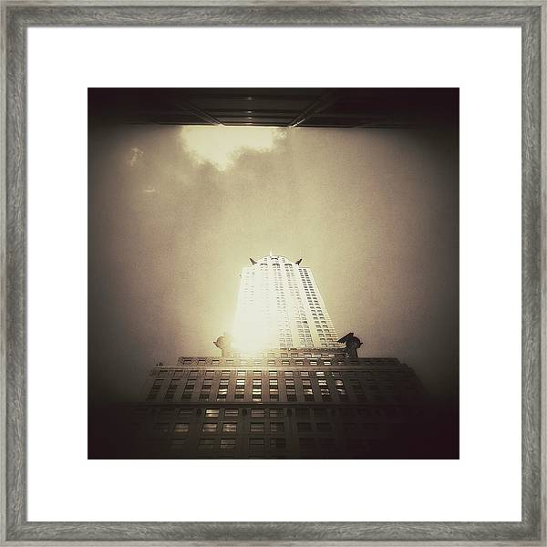 The Chrysler Building - New York City Framed Print